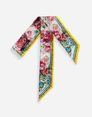 Dolce&Gabbana PRINTED SILK HEADBAND (6 X 100)