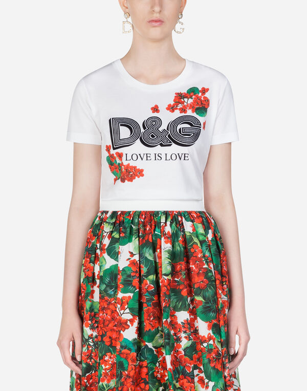 df7793f421d0 T-shirts e Felpe Donna   Dolce&Gabbana
