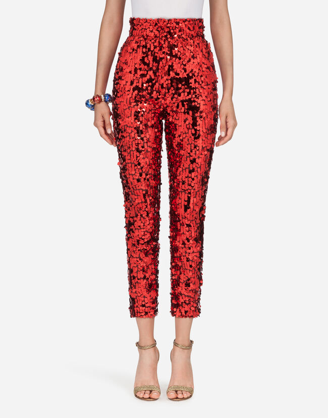 Dolce & Gabbana SEQUINED PANTS