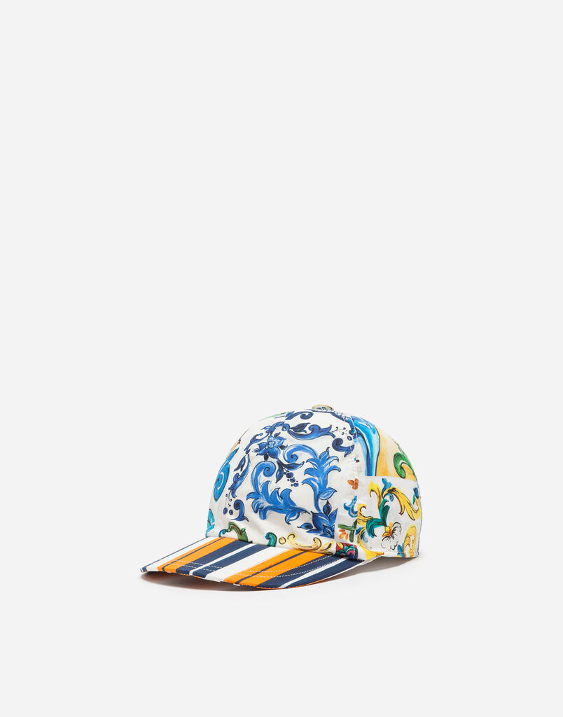 Dolce&Gabbana COTTON BASEBALL CAP