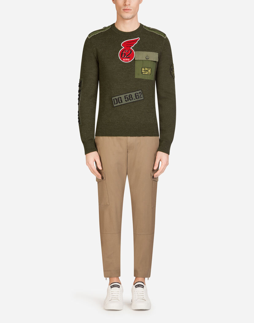 wide selection top-rated professional newest style of Cotton Cargo Pants - Men's Clothing | Dolce&Gabbana