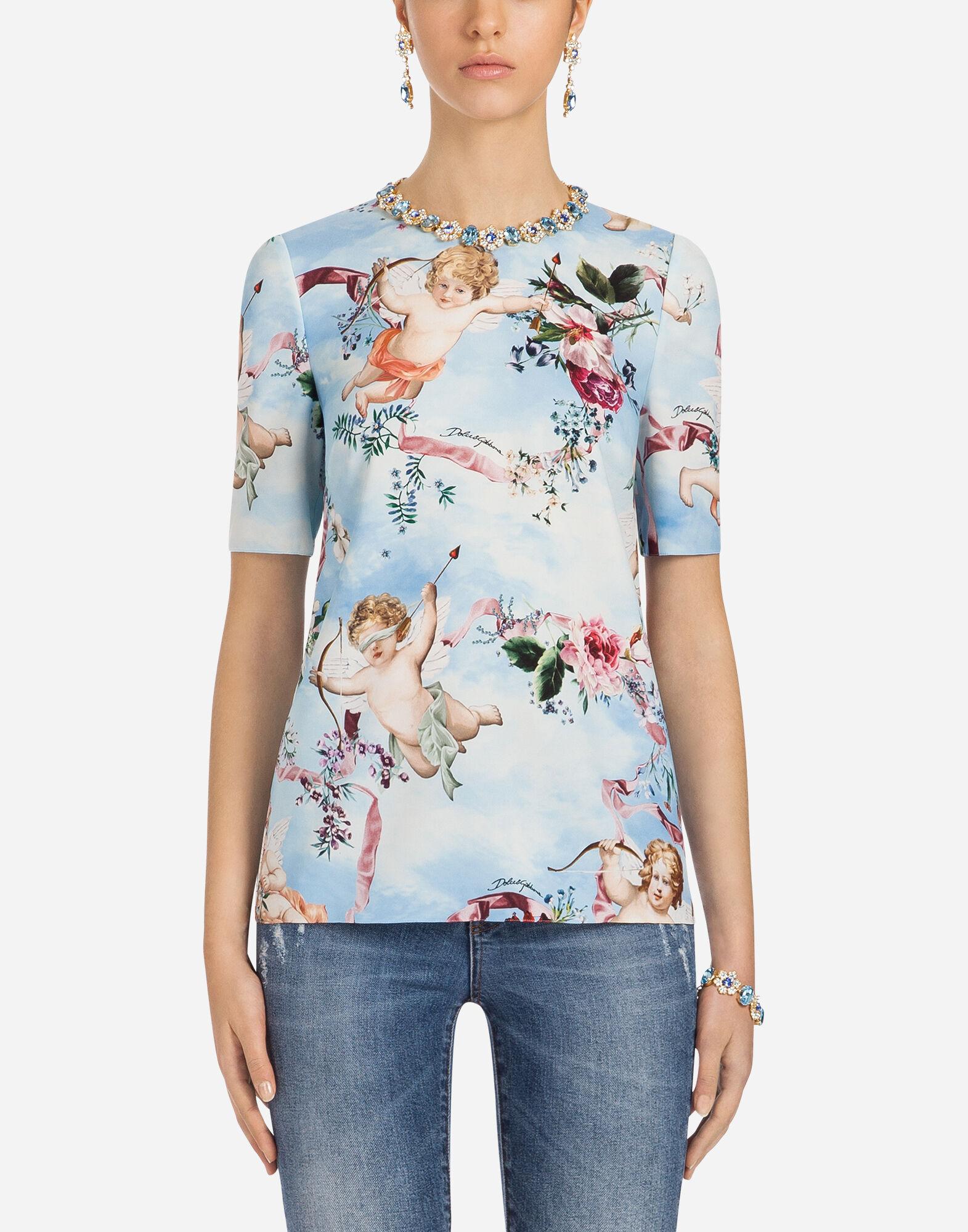 dolce gabbana t shirt purple