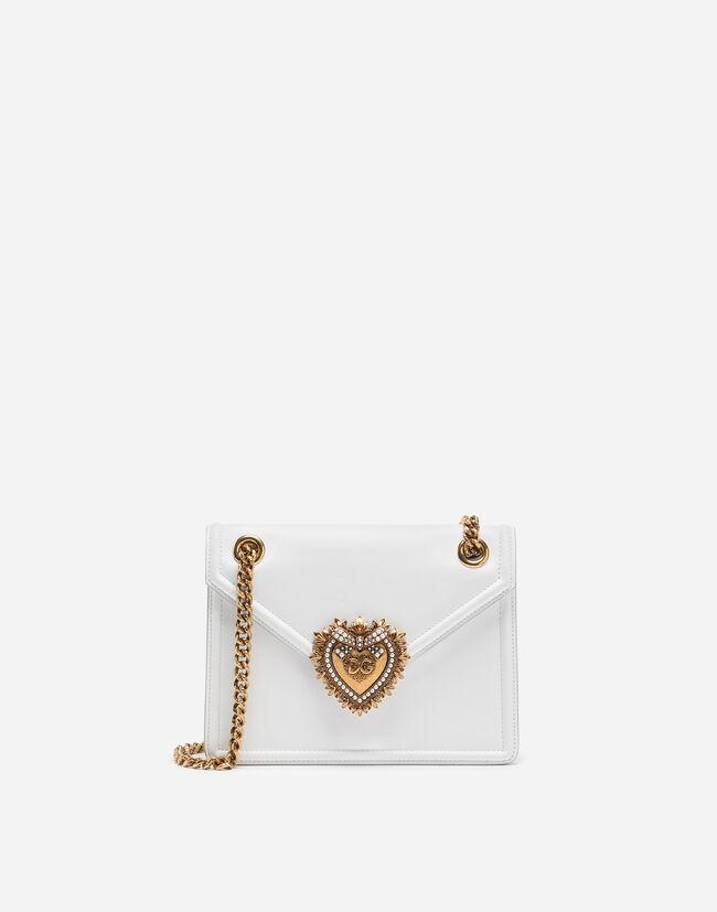 Dolce&Gabbana MEDIUM DEVOTION BAG IN SMOOTH CALFSKIN LEATHER