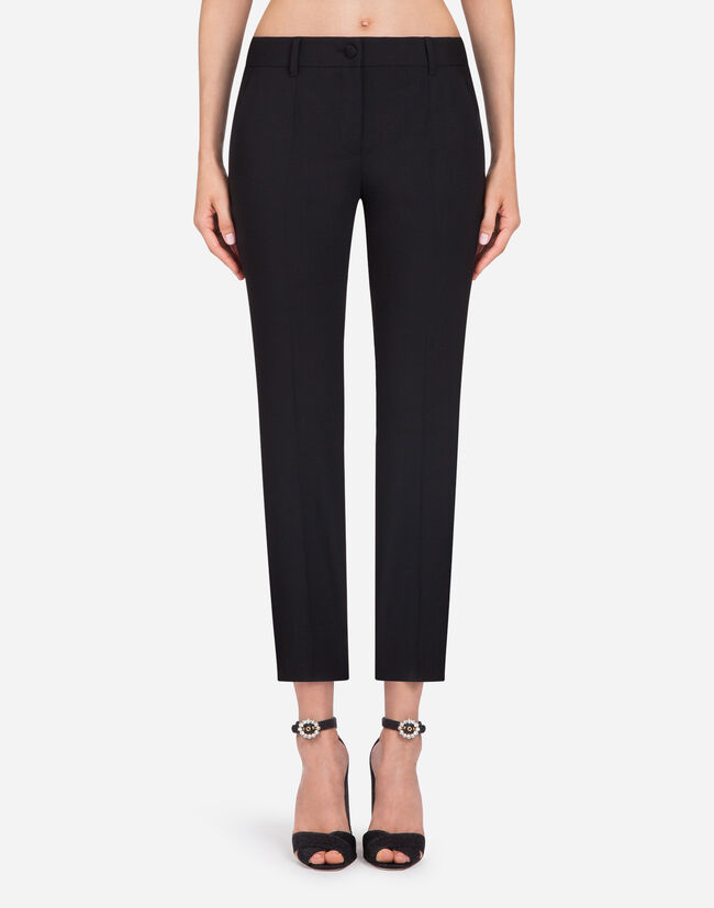 Dolce & Gabbana STRETCH WOOL PANTS