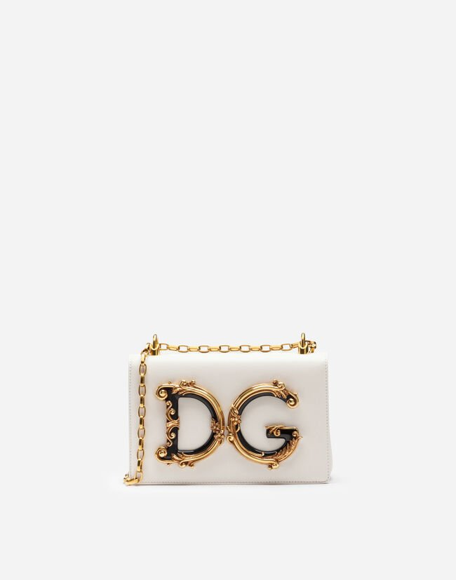 25bf678abe Nappa Leather DG Girls Shoulder Bag - Women's Bags | Dolce&Gabbana