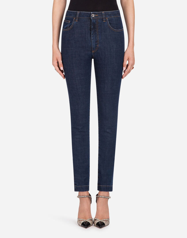 Dolce & Gabbana STRETCH COTTON AUDREY-FIT JEANS