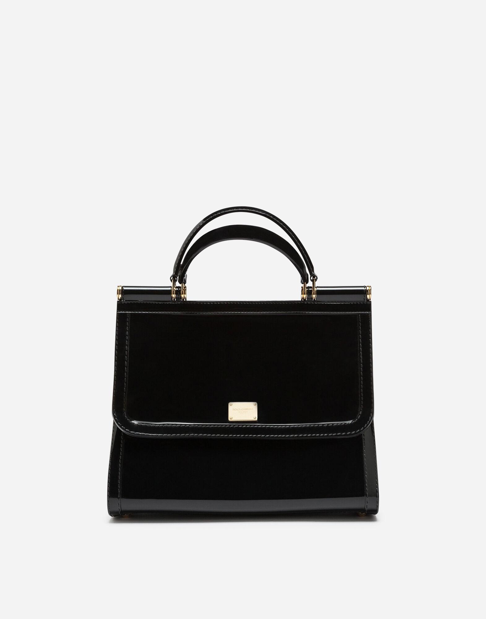 Dolce & Gabbana Clutch Bag On Sale, Black, PVC, 2017, one size