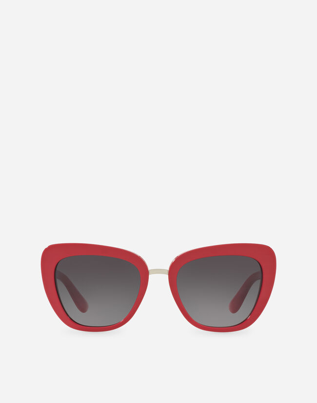 Dolce & Gabbana SQUARE ACETATE SUNGLASSES