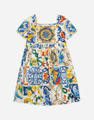 PRINTED COTTON DRESS