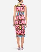 Dolce & Gabbana POP LEOPARD-PRINT VISCOSE DRESS