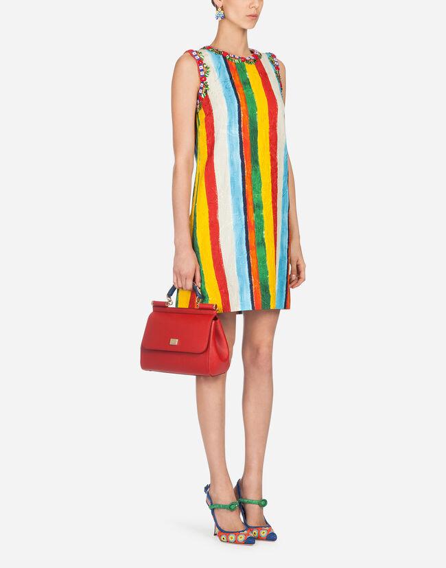 Dolce&Gabbana PRINTED BROCADE DRESS