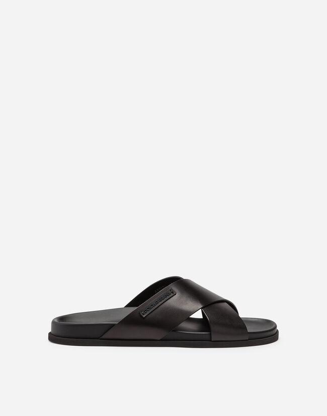 Sandalo In Vitello - Scarpe Uomo  3fbdfe5af4a