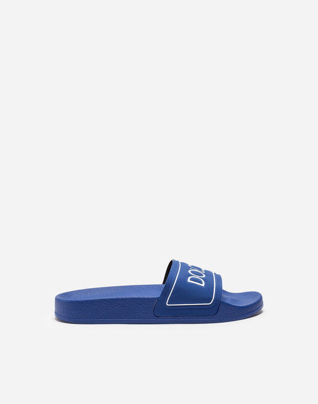 Dolce & Gabbana RUBBER SLIDES WITH PRINT