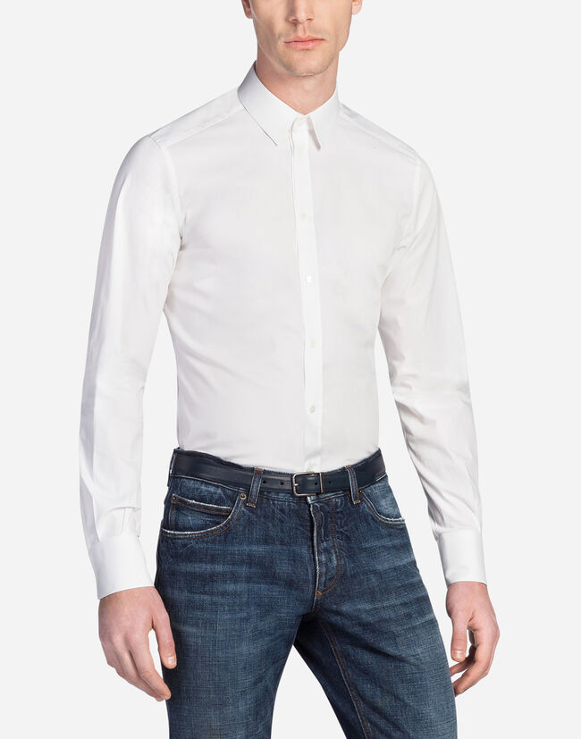 GOLD FIT SHIRT IN STRETCH COTTON