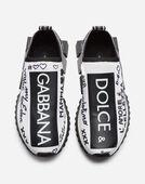 Dolce&Gabbana SNEAKERS IN SORRENTO GRAFFITI PRINT