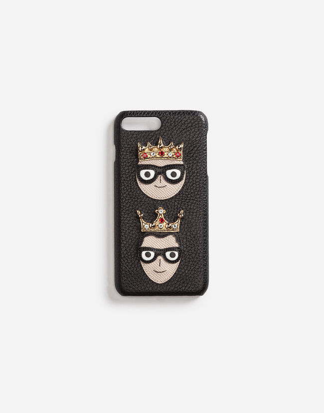 Dolce&Gabbana IPHONE 7 PLUS COVER WITH PATCH