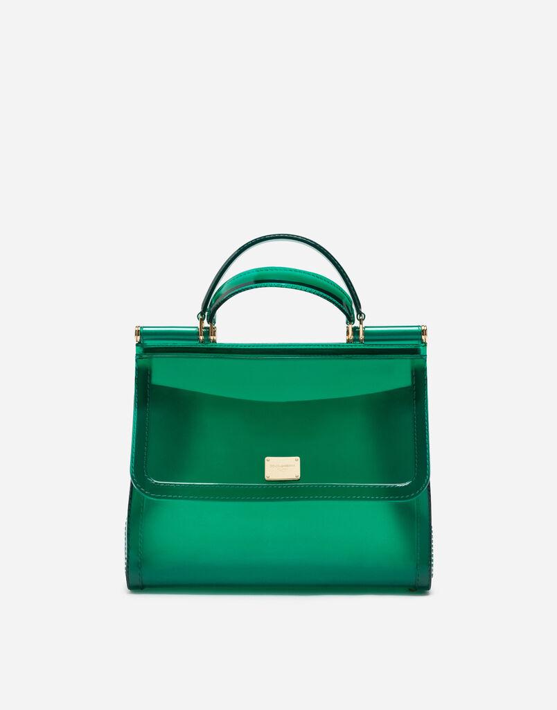 Semi Transpa Rubber Sicily Handbag