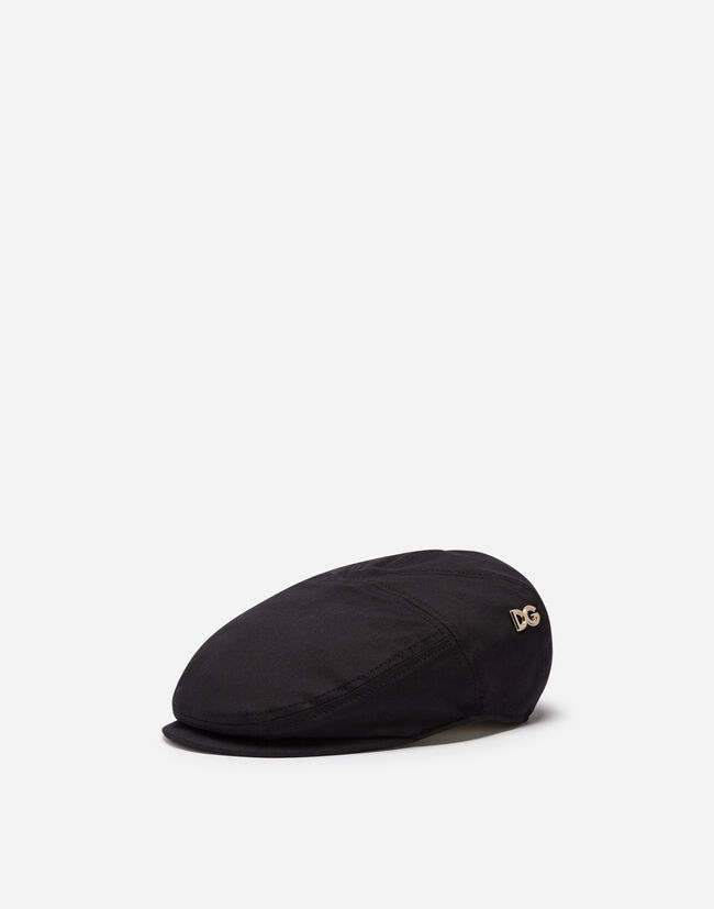 FLAT CAP IN STRETCH COTTON