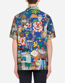 HAWAII FIT SHIRT IN PRINTED COTTON