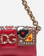 DG MILLENNIALS BAG IN LEATHER WITH PATCH