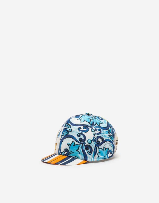 Dolce & Gabbana COTTON BASEBALL CAP