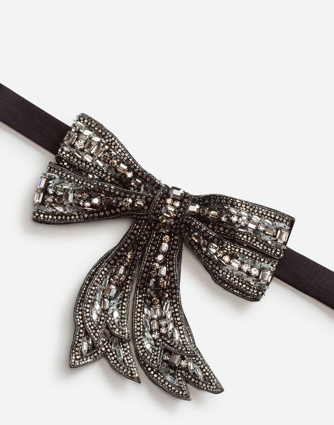 Dolce & Gabbana RHINESTONE BOW TIE