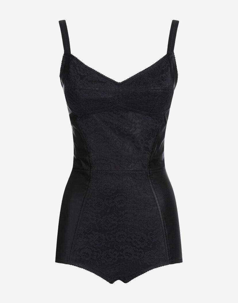 gute Textur attraktiver Preis Preis Unterwäsche und Strümpfe für Damen | Dolce&Gabbana - KORSETTBODY AUS SPITZE  UND SATIN