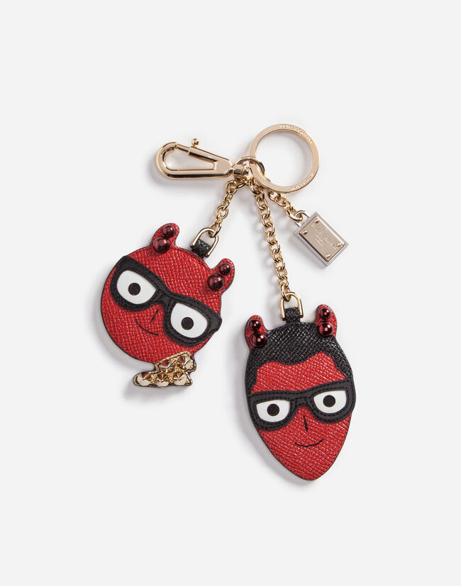 Dolce&Gabbana KEYCHAIN WITH A CHARM OF THE DESIGNERS