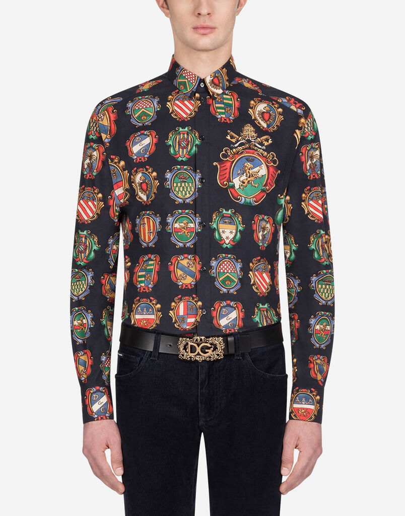 63c0a64f Men's Shirts | Dolce&Gabbana