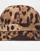 PRINTED COTTON POPLIN HAT