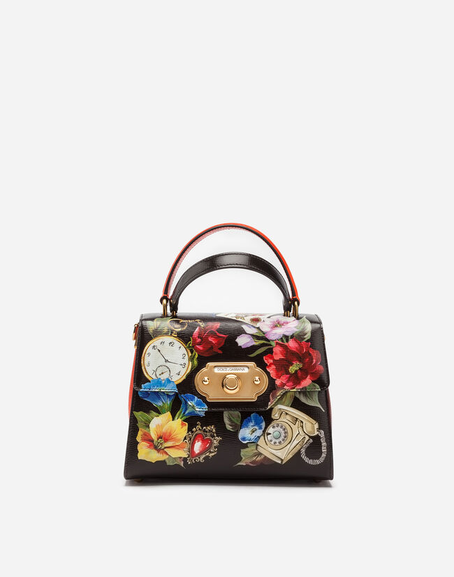 Dolce&Gabbana MEDIUM WELCOME BAG IN PRINTED CALFSKIN