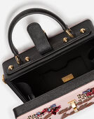 DOLCE BOX BAG IN DAUPHINE CALFSKIN