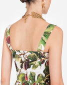 Dolce&Gabbana PRINTED POPLIN DRESS