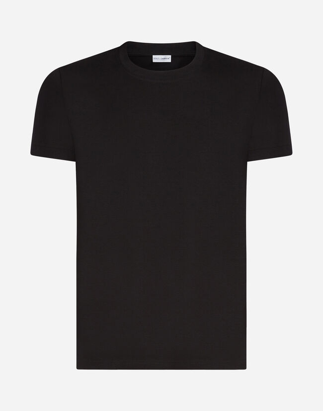 Dolce & Gabbana CREW NECK COTTON T-SHIRT