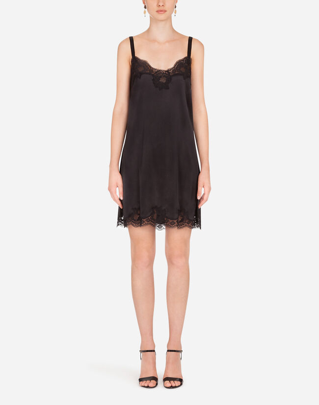 Dolce & Gabbana SATIN SLIP DRESS