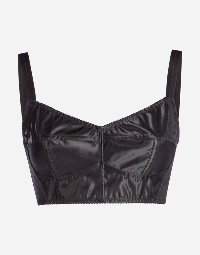 21f903d4a1219 Shirts and Tops. jacquard shaper fabric bralette top