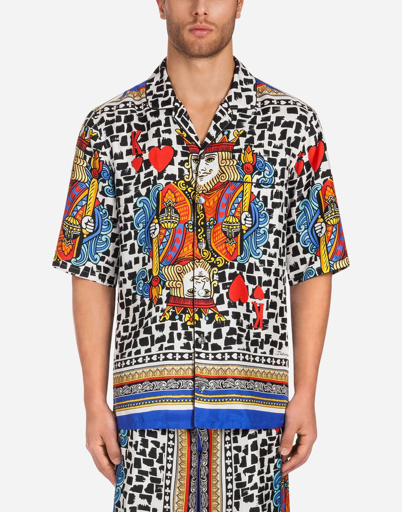 Hawaiian floral print shirt - White Dolce & Gabbana Clearance Lowest Price Cheap Sale Low Price Fee Shipping Shop Offer Online Countdown Package Cheap Online Countdown Package Sale Online C6l90jKGez