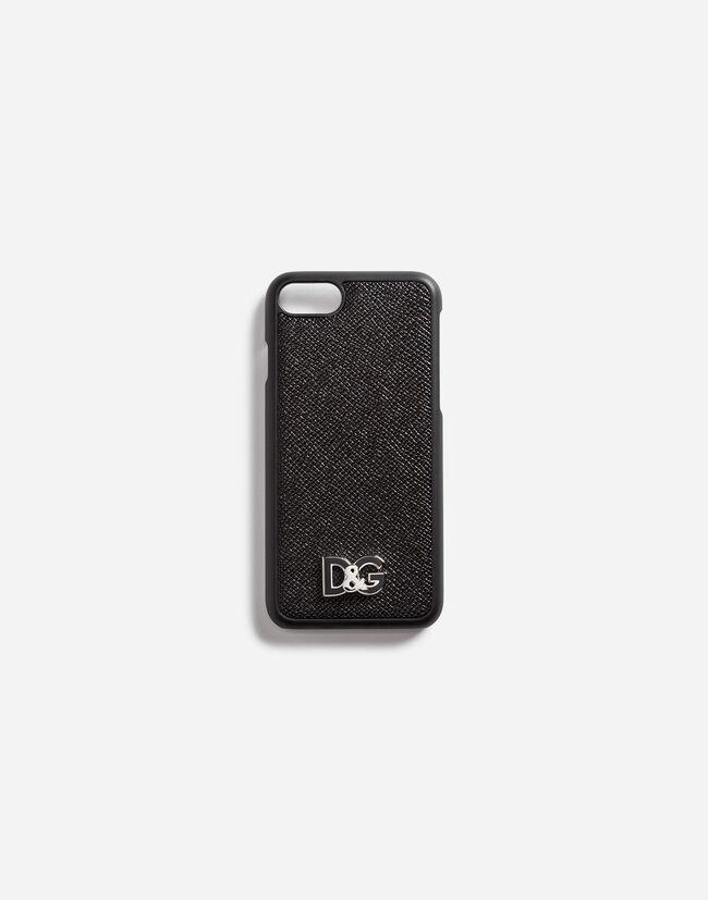 Coque Iphone 7 en Cuir de Veau Dauphine avec Détail - Accessoires Hi ... ea321a6468f1