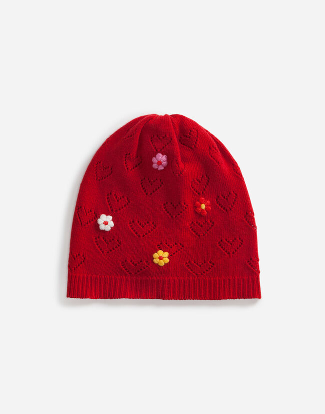WOOL HAT WITH APPLIQUÉ
