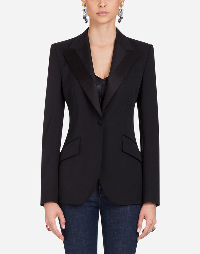 Dolce & Gabbana WOOL AND SILK TUXEDO JACKET