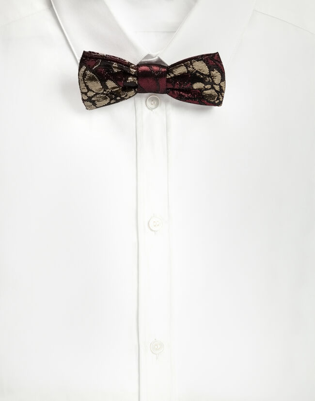 BOW TIE IN LUREX JACQUARD