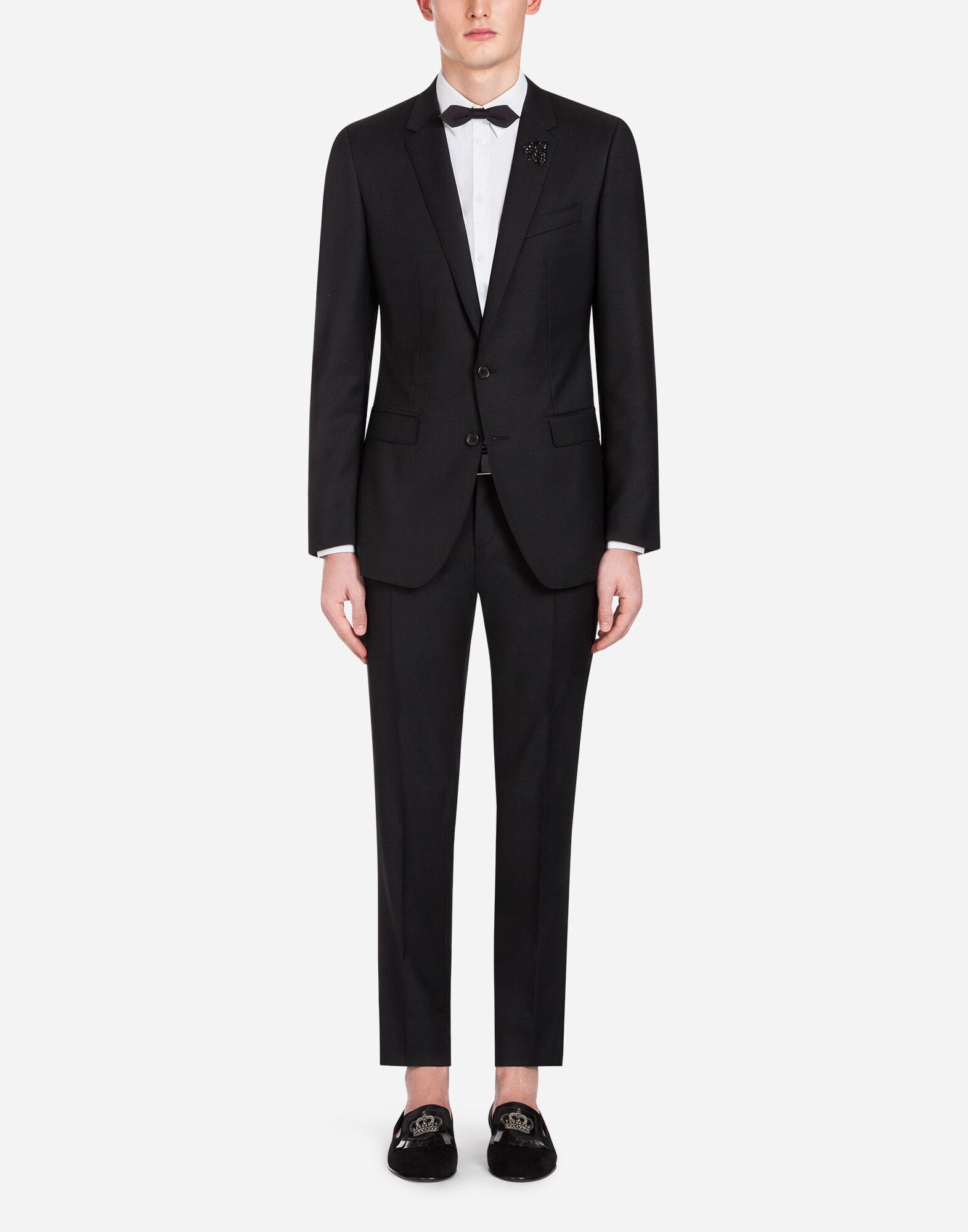 Dolce&Gabbana スーツ マティーニ ジャカードウール パッチ