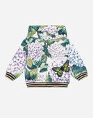 COTTON SWEATSHIRT WITH PATCH