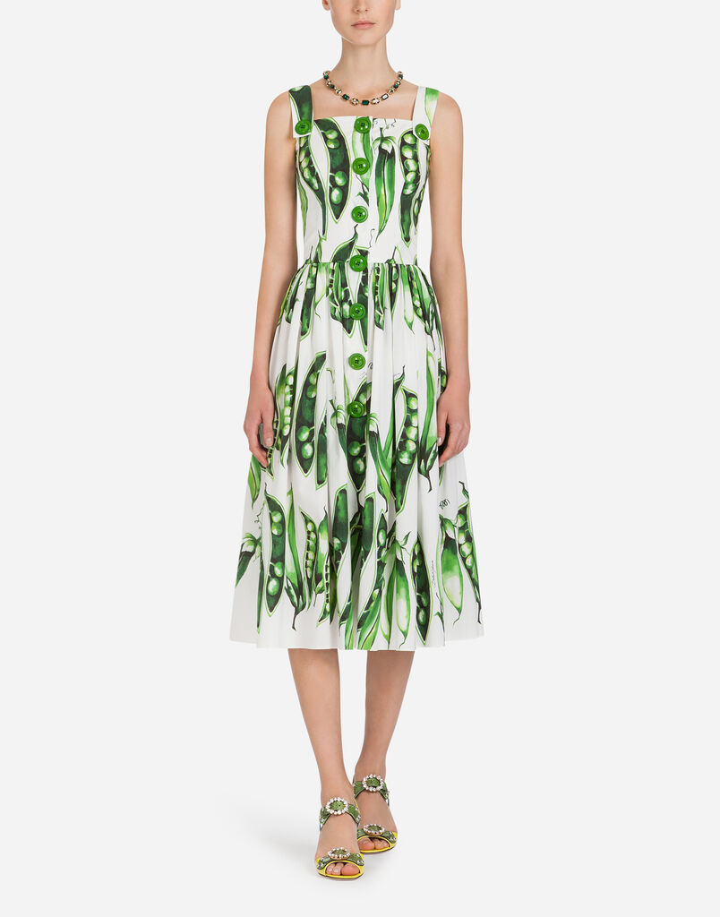 Womens dresses clothing for women dolcegabbana printed cotton dress ombrellifo Choice Image