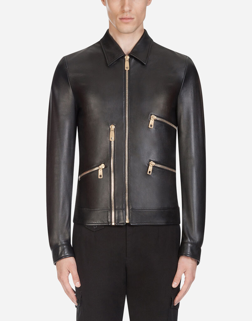 Men S Jackets And Leather Jackets Dolce Gabbana