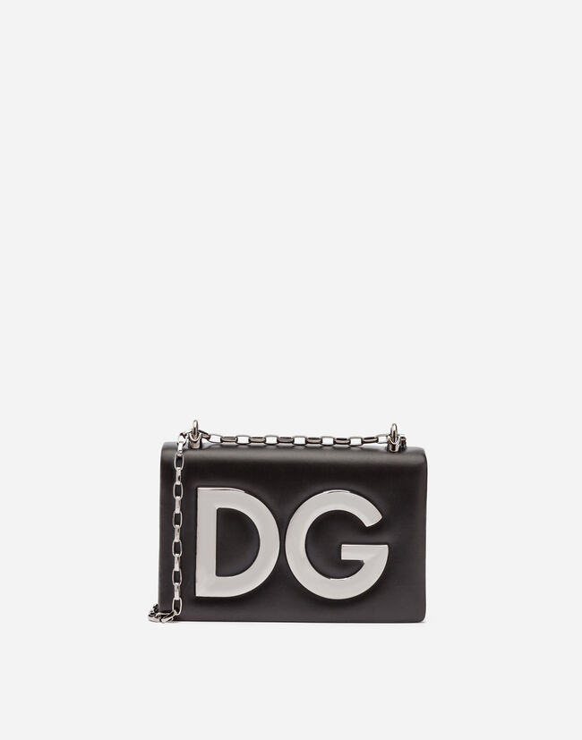 Dolce & Gabbana DG GIRLS SHOULDER BAG IN NAPPA LEATHER