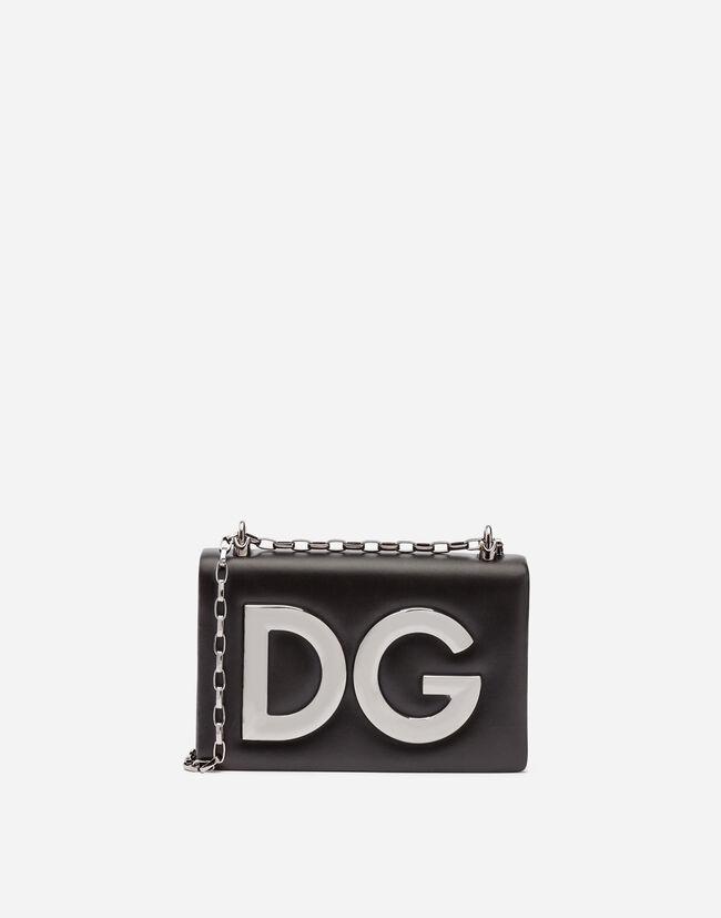 24b714f0c66c Women's Mini Bags and Clutches | Dolce&Gabbana - DG GIRLS SHOULDER BAG IN  NAPPA LEATHER