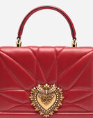 LARGE DEVOTION BAG IN QUILTED NAPPA LEATHER