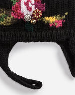WOOL HAT WITH EMBROIDERY