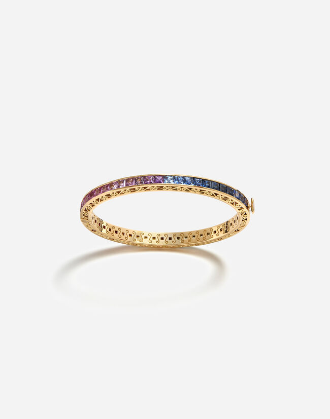 Dolce & Gabbana MULTICOLOR SAPPHIRE BRACELET FROM THE RAINBOW COLLECTION